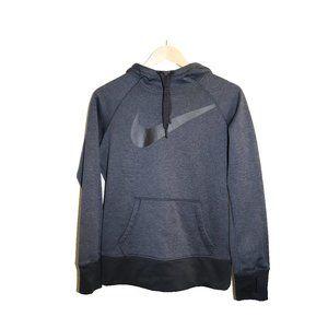 Nike Big Swoosh Therma-Fit Hooded Sweatshirt